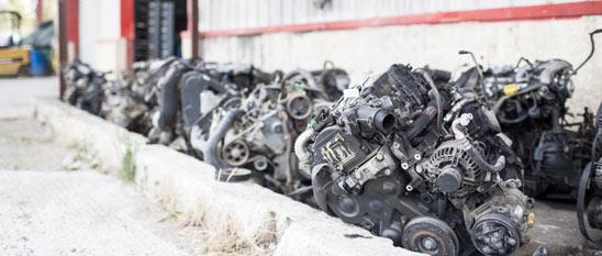 Exportation pièces auto et lots de moteurs vers Afrique